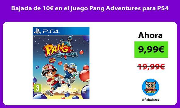 Bajada de 10€ en el juego Pang Adventures para PS4
