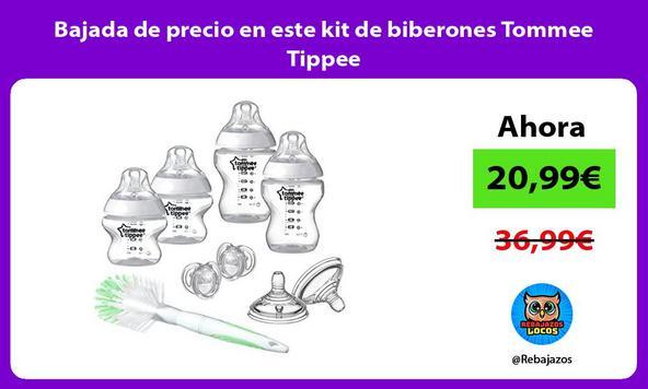 Bajada de precio en este kit de biberones Tommee Tippee