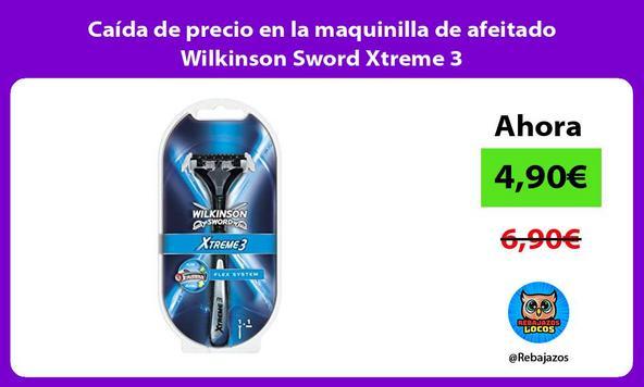 Caída de precio en la maquinilla de afeitado Wilkinson Sword Xtreme 3