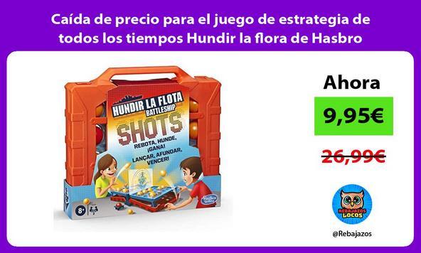Caída de precio para el juego de estrategia de todos los tiempos Hundir la flora de Hasbro