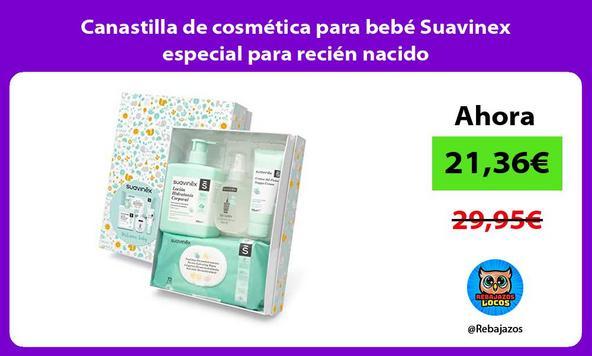 Canastilla de cosmética para bebé Suavinex especial para recién nacido