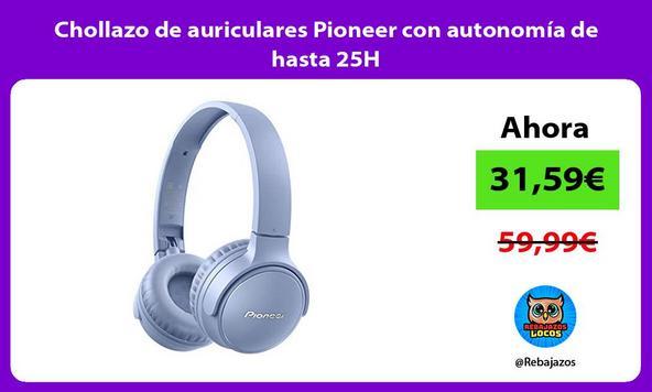 Chollazo de auriculares Pioneer con autonomía de hasta 25H