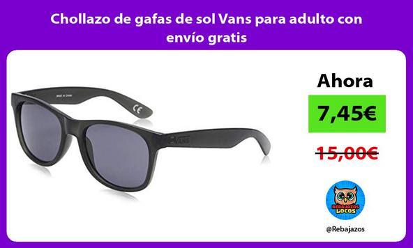 Chollazo de gafas de sol Vans para adulto con envío gratis
