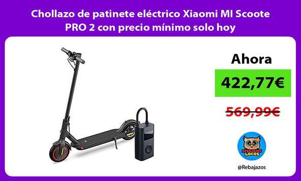 Chollazo de patinete eléctrico Xiaomi MI Scoote PRO 2 con precio mínimo solo hoy