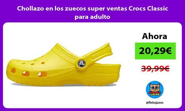 Chollazo en los zuecos super ventas Crocs Classic para adulto