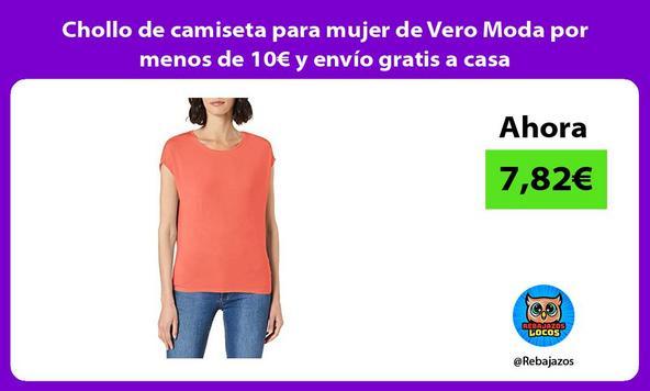Chollo de camiseta para mujer de Vero Moda por menos de 10€ y envío gratis a casa