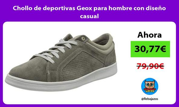 Chollo de deportivas Geox para hombre con diseño casual
