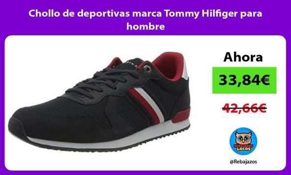 Chollo de deportivas marca Tommy Hilfiger para hombre