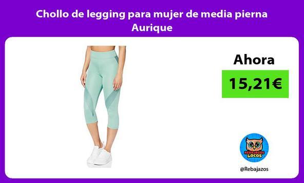 Chollo de legging para mujer de media pierna Aurique