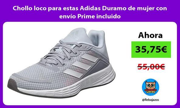 Chollo loco para estas Adidas Duramo de mujer con envío Prime incluido