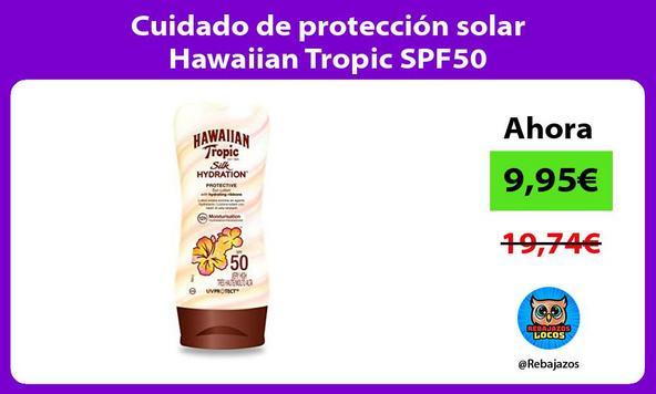 Cuidado de protección solar Hawaiian Tropic SPF50