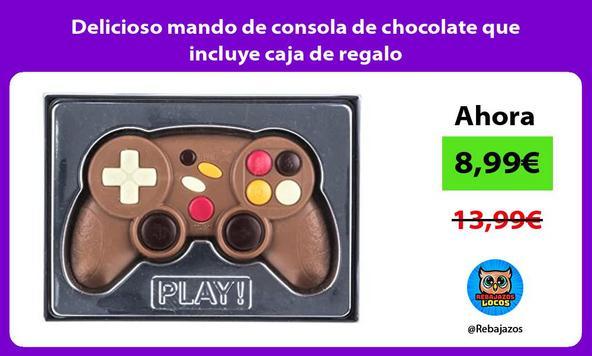 Delicioso mando de consola de chocolate que incluye caja de regalo