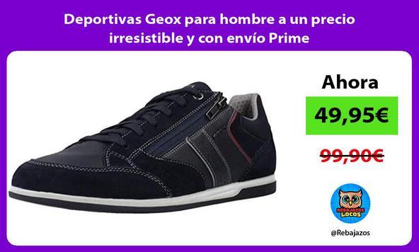 Deportivas Geox para hombre a un precio irresistible y con envío Prime