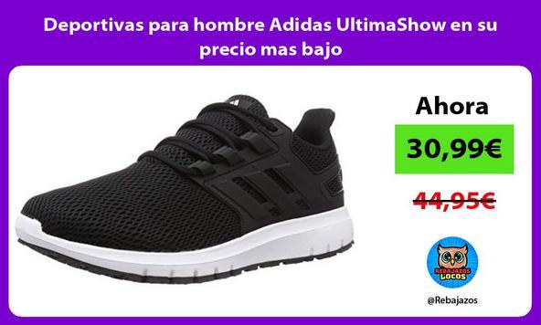 Deportivas para hombre Adidas UltimaShow en su precio mas bajo