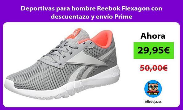 Deportivas para hombre Reebok Flexagon con descuentazo y envío Prime