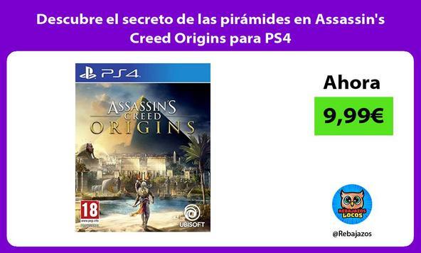 Descubre el secreto de las pirámides en Assassin's Creed Origins para PS4