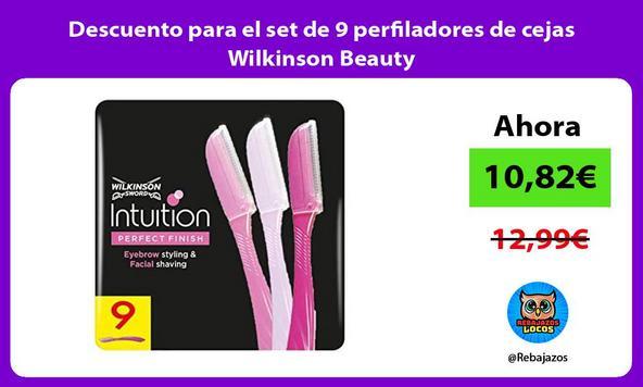 Descuento para el set de 9 perfiladores de cejas Wilkinson Beauty