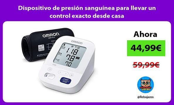 Dispositivo de presión sanguínea para llevar un control exacto desde casa