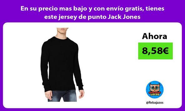 En su precio mas bajo y con envío gratis, tienes este jersey de punto Jack Jones