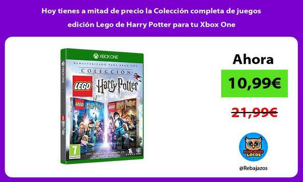 Hoy tienes a mitad de precio la Colección completa de juegos edición Lego de Harry Potter para tu Xbox One