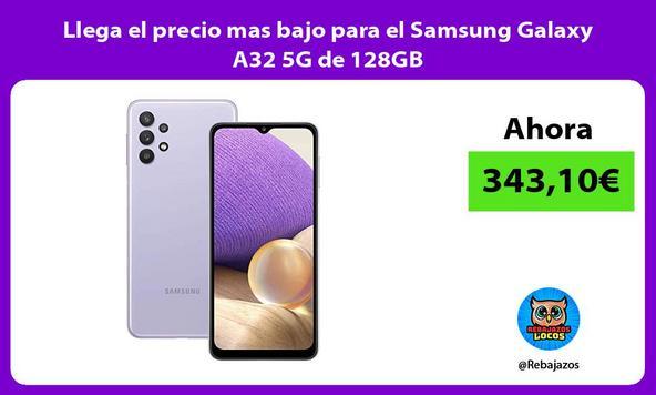 Llega el precio mas bajo para el Samsung Galaxy A32 5G de 128GB