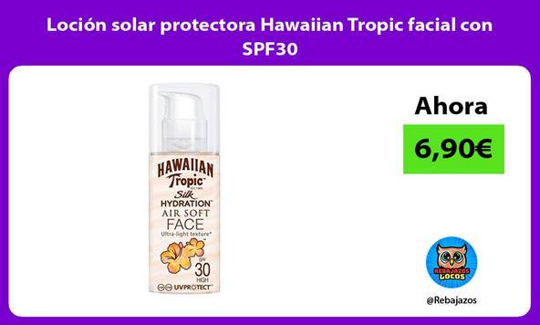 Loción solar protectora Hawaiian Tropic facial con SPF30