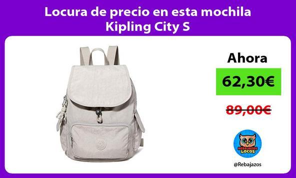 Locura de precio en esta mochila Kipling City S