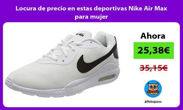 Locura de precio en estas deportivas Nike Air Max para mujer