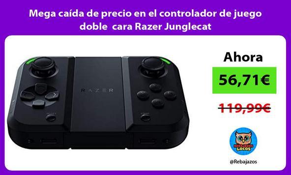 Mega caída de precio en el controlador de juego doble cara Razer Junglecat