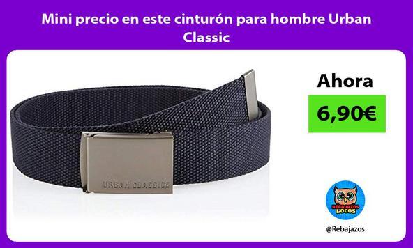 Mini precio en este cinturón para hombre Urban Classic
