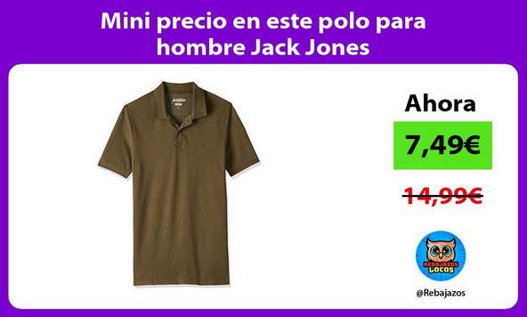 Mini precio en este polo para hombre Jack Jones