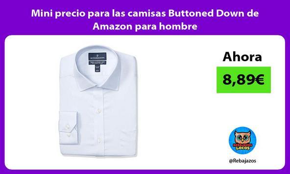 Mini precio para las camisas Buttoned Down de Amazon para hombre