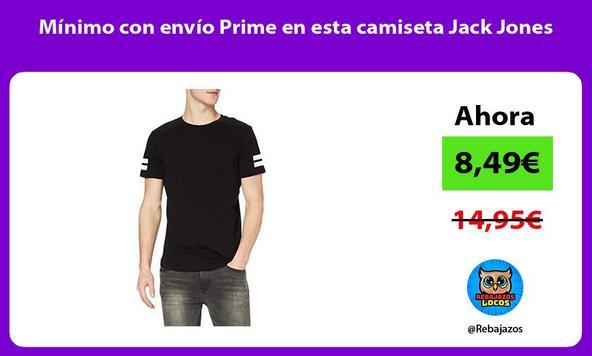 Mínimo con envío Prime en esta camiseta Jack Jones