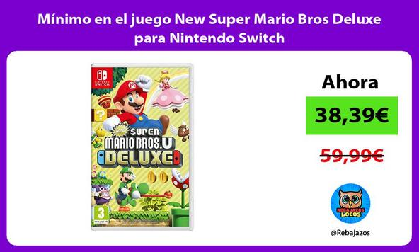 Mínimo en el juego New Super Mario Bros Deluxe para Nintendo Switch