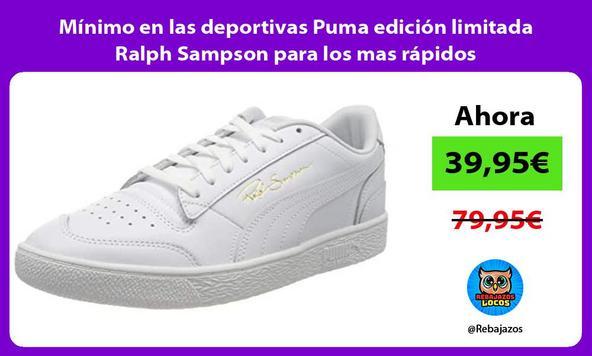 Mínimo en las deportivas Puma edición limitada Ralph Sampson para los mas rápidos
