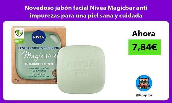 Novedoso jabón facial Nivea Magicbar anti impurezas para una piel sana y cuidada