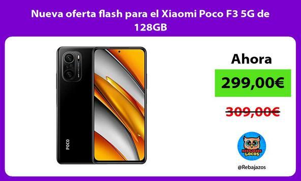 Nueva oferta flash para el Xiaomi Poco F3 5G de 128GB
