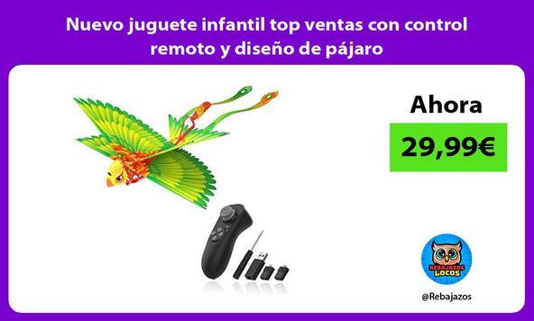 Nuevo juguete infantil top ventas con control remoto y diseño de pájaro