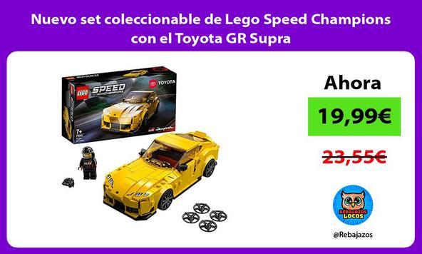 Nuevo set coleccionable de Lego Speed Champions con el Toyota GR Supra
