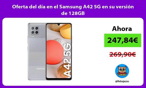 Oferta del día en el Samsung A42 5G en su versión de 128GB