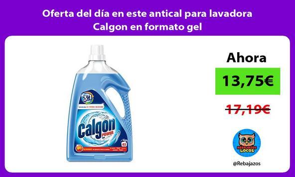 Oferta del día en este antical para lavadora Calgon en formato gel