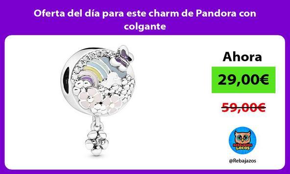 Oferta del día para este charm de Pandora con colgante