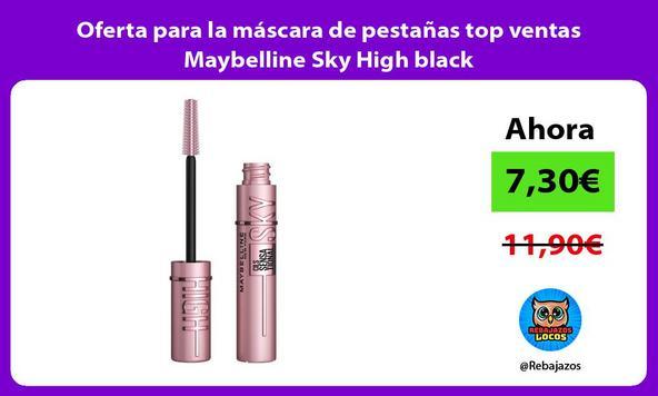 Oferta para la máscara de pestañas top ventas Maybelline Sky High black