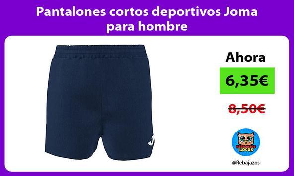 Pantalones cortos deportivos Joma para hombre