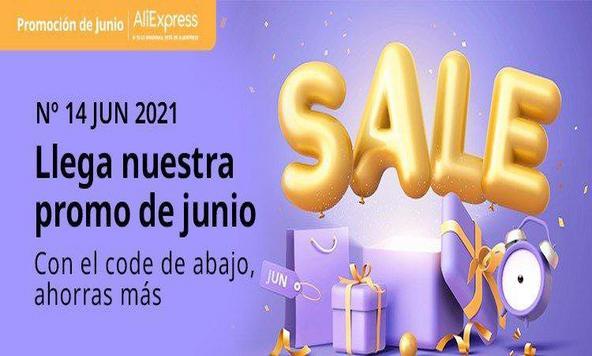 Por fin llega Aliexpress promo de junio, puede conseguir algunos productos hasta 0.01€ si es nuevo usuario