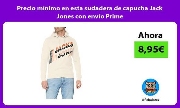 Precio mínimo en esta sudadera de capucha Jack Jones con envío Prime