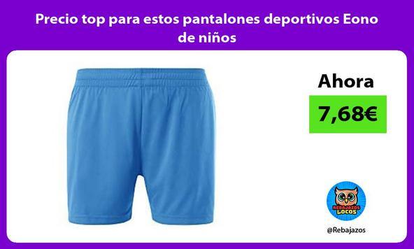 Precio top para estos pantalones deportivos Eono de niños