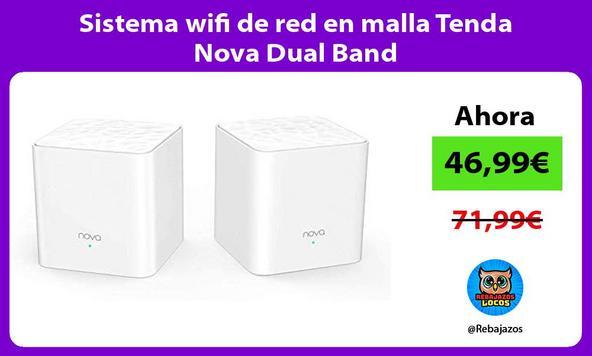 Sistema wifi de red en malla Tenda Nova Dual Band