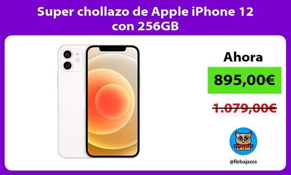 Super chollazo de Apple iPhone 12 con 256GB
