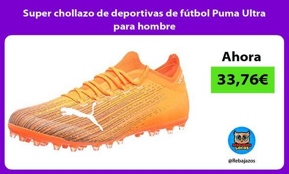 Super chollazo de deportivas de fútbol Puma Ultra para hombre